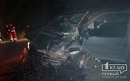 Пятеро человек пострадали в результате ДТП на трассе Кропивницкий - Кривой Рог - Запорожье