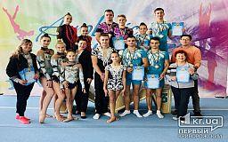 На Кубке Украине криворожские акробаты завоевали медали