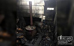 Пытаясь спасти дрова во время пожара, пенсионер получил ожоги