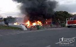 Полицейские расследуют поджог 6 авто на стоянке АрселорМиттал Кривой Рог