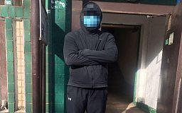 В Кривом Роге за распространение незаконной агитации задержали парня