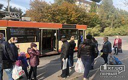 В Кривом Роге у дизельного троллейбуса по пути следования раскрутились болты на колесах