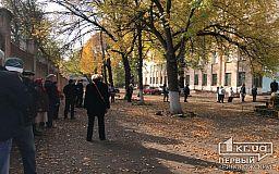 Возле участков для голосования в Кривом Роге образовались очереди