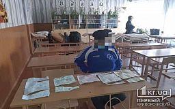Криворожанин порвал бюллетени для голосования и хотел вынесли их за пределы участка