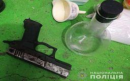 Коноплю, метамфетамин и оружие изъяли в нарколаборатории криворожанина