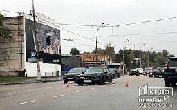 В Кривом Роге два BMW попали в ДТП