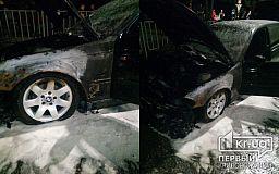В Кривом Роге на ходу загорелся BMW