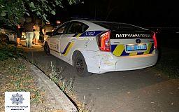 Ночью полицейские в Кривом Роге устроили погоню со стрельбой за нарушителем