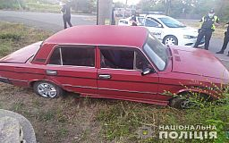 Угонщика автомобиля задержали в Кривом Роге правоохранители
