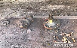 На территории  станции «Кривой Рог-Главный» задержали мужчину, который воровал металл