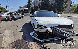 ДТП в Кривом Роге: человек пострадал в результате столкновения двух авто