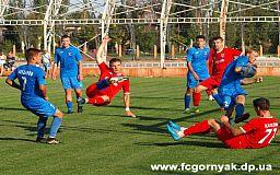 Криворожский «Горняк» обыграл никопольских футболистов