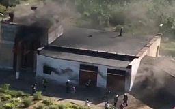В Кривом Роге на насосной станции случился пожар
