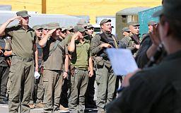 Домой из зоны ООС вернулись криворожские гвардейцы
