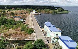 В криворожском водохранилище упал уровень воды
