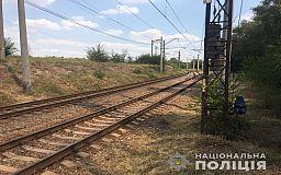 В Кривом Роге полицейские задержали мужчину, который снял металл с железной дороги