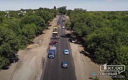 Блогер показал, где на трассе Кривой Рог – Кропивницкий есть хорошая дорога