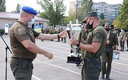 Криворожские нацгвардейцы завоевали золото на соревнованиях памяти полковника Александра Голякова
