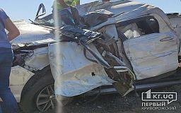 На выезде из Кривого Рога в ДТП попали пикап и фура: два человека погибли (обновлено)