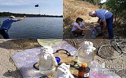 Качество воды в двух прудах Кривого Рога проверят в лаборатории