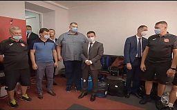 Що Зеленський сказав футболістам ФК «Кривбас» у роздягальні, - відео ОПУ