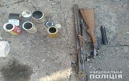 Марихуану и оружие нашли полицейские у криворожанина дома