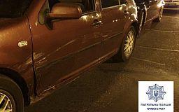 Водитель на Volkswagen в Кривом Роге врезался в BMW и скрылся с места аварии
