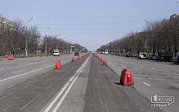 Онлайн: проверить выполнение ремонта на проспекте 200-летия Кривого Рога приехал глава ДнепрОГА
