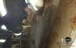 Криворожские спасатели обнаружили труп мужчины во время тушения пожара