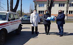 Компания Метинвест передала медикам районных больниц средства индивидуальной защиты