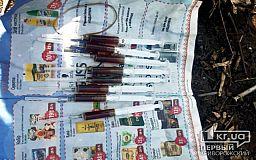 Полисмены обнаружили у криворожанина 8 шприцов с опием «для себя»