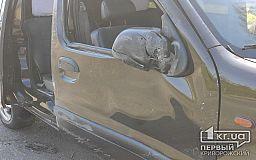 В Кривом Роге авто перевернулось на бок в результате ДТП (исправлено)
