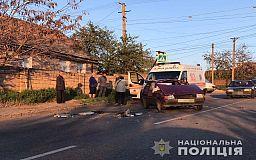 В Кривом Роге полиция задержала водителя, который попытался скрыться с места ДТП