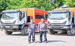 Метинвест приобрел новые вахтовые автомобили для работников ЦГОКа