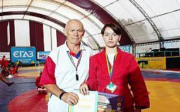 Криворожанка победила на Всеукраинских соревнованиях по самбо