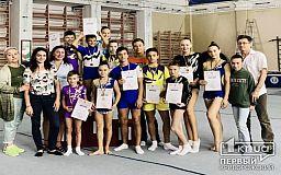 В Кривом Роге состоялся чемпионат города по спортивной акробатике