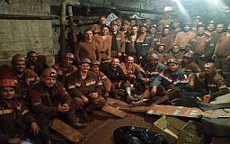 В Кривом Роге шахтеры седьмые сутки продолжают бастовать