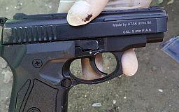 В Кривом Роге у мужчины изъяли пистолет