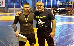 Криворожанин занял второе место на Всеукраинском чемпионате по греко-римской борьбе