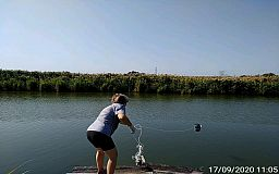 Качество воды в криворожской реке Саксагань проверят в лаборатории