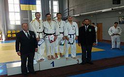 Криворожский дзюдоист завоевал серебряную медаль на областном чемпионате