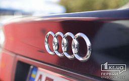 В Кривом Роге водитель на Audi сбил несовершеннолетнего парня