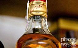 Криворожанина, пытавшегося украсть элитный виски из супермаркета, посадили в тюрьму