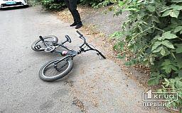 В Кривом Роге в результате ДТП пострадал велосипедист