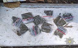 За выходные в Кривом Роге полицейские изъяли почти 200 пакетиков марихуаны и около 100 трубочек с метамфетамином