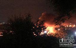 В частном секторе в Кривом Роге случился пожар (обновлено)