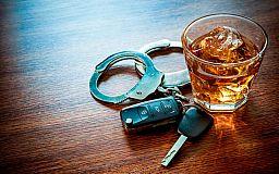 На праздничных выходных в Кривом Роге полицейские задержали 54 пьяных водителя