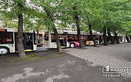 Онлайн: в Кривом Роге презентуют новые троллейбусы, которые будут ездить на маршрутах №8 и №11