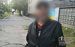 Криворожские патрульные задержали мужчину, который ограбил пенсионерку