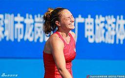 Теннисистка из Кривого Рога вышла в четвертьфинал турнира WTA в Шэньчжэне